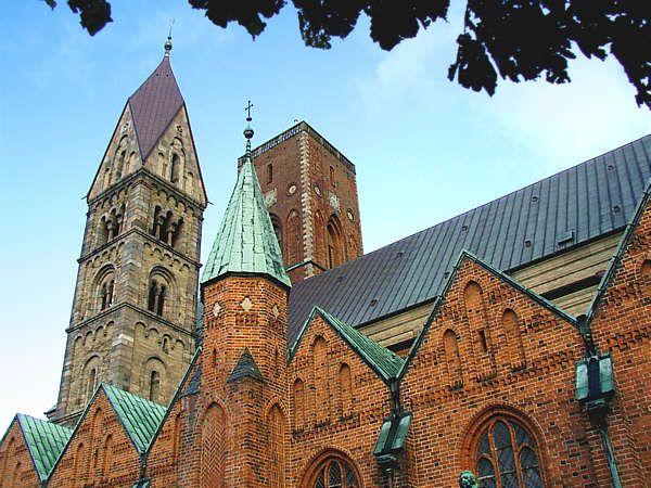 Katedra Ribe - zabytek w Danii