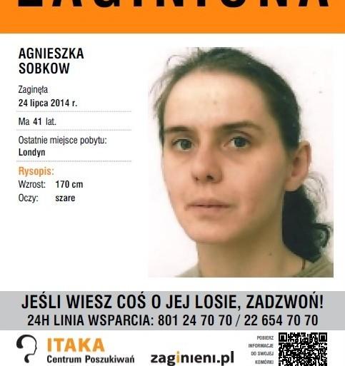 Ktokolwiek widział Agnieszkę Sobkow