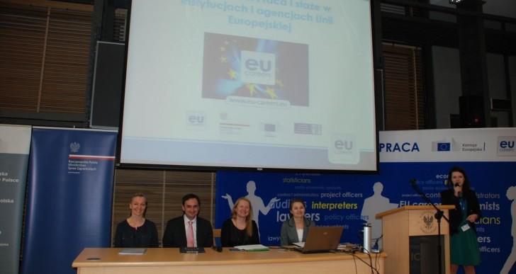 Praca i staże w instytucjach Unii Europejskiej